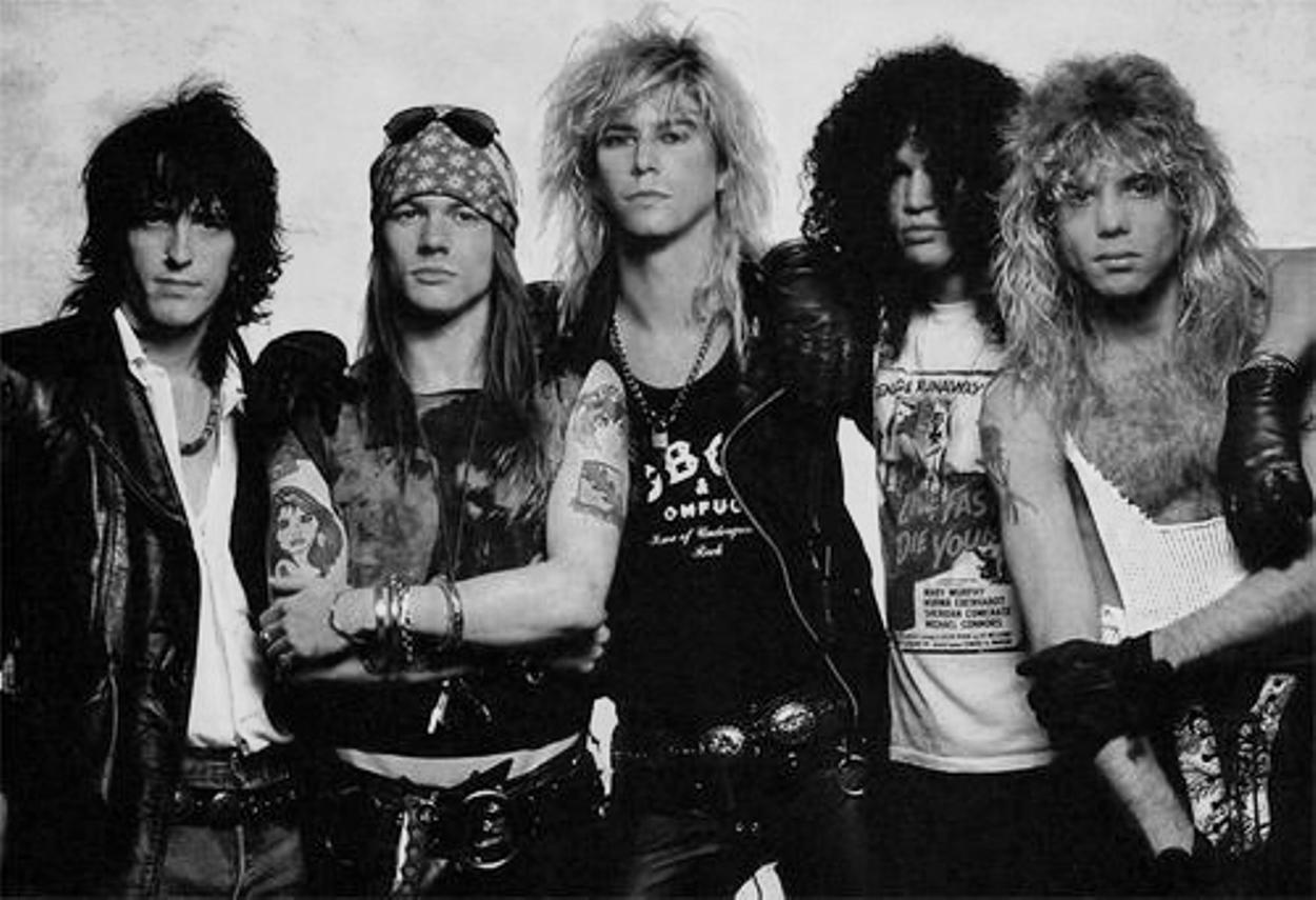 Guns N' Roses - Hard Rock