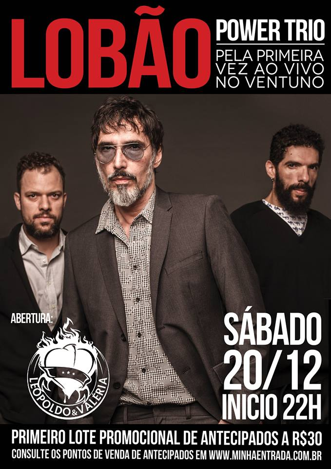 Lobão Power Trio