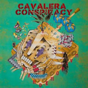 """Capa de """"Pandemonium"""", novo disco do Cavalera Conspiracy"""