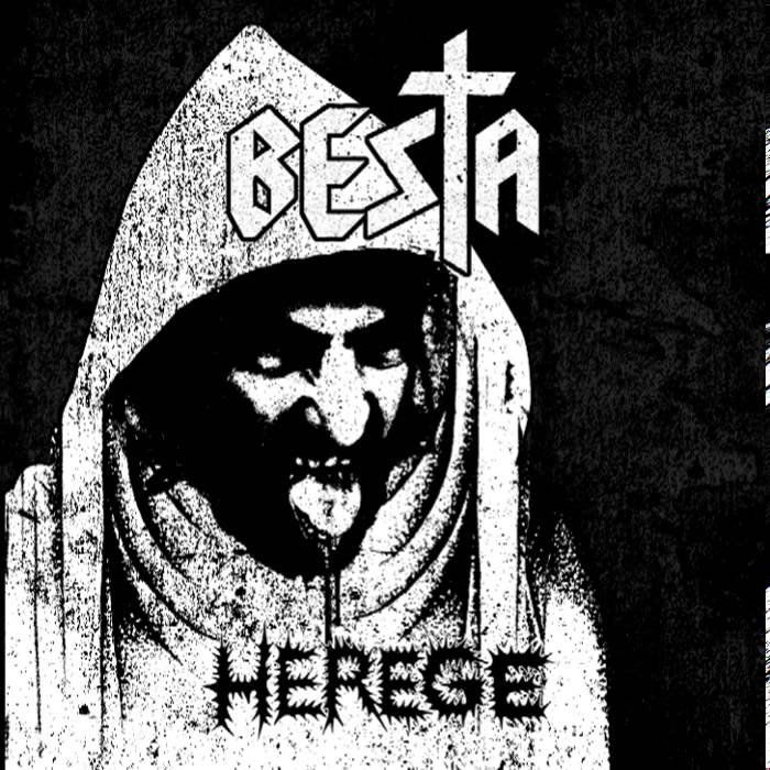 "Capa de ""Herege"", mini-álbum do Besta"
