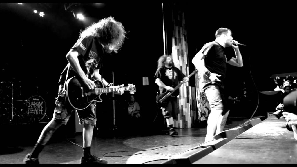 Napalm Death em ação!