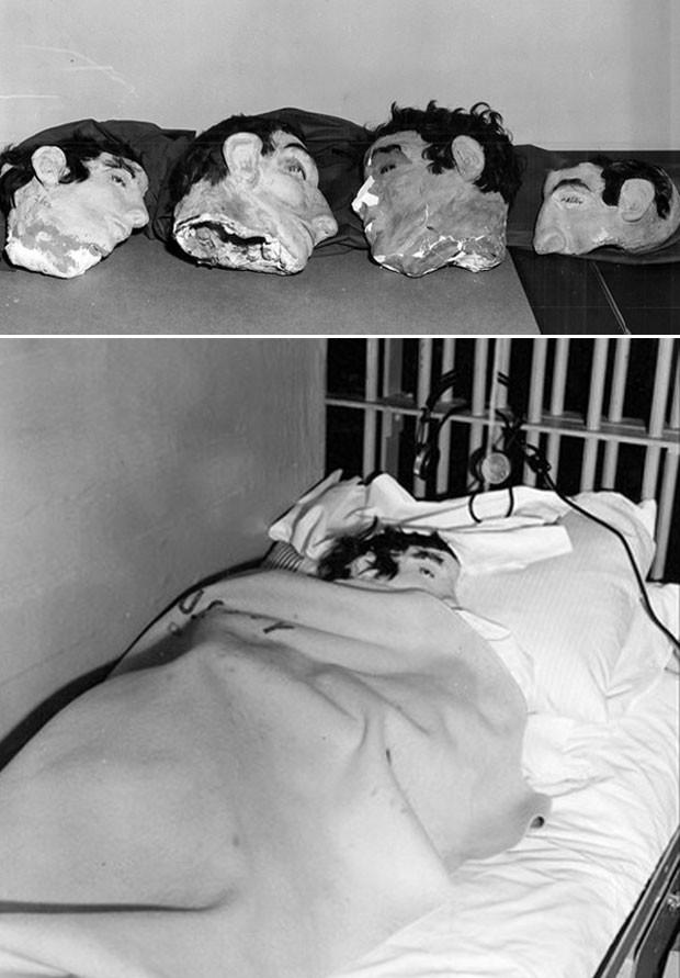 Imagens da fuga divulgadas pelo FBI