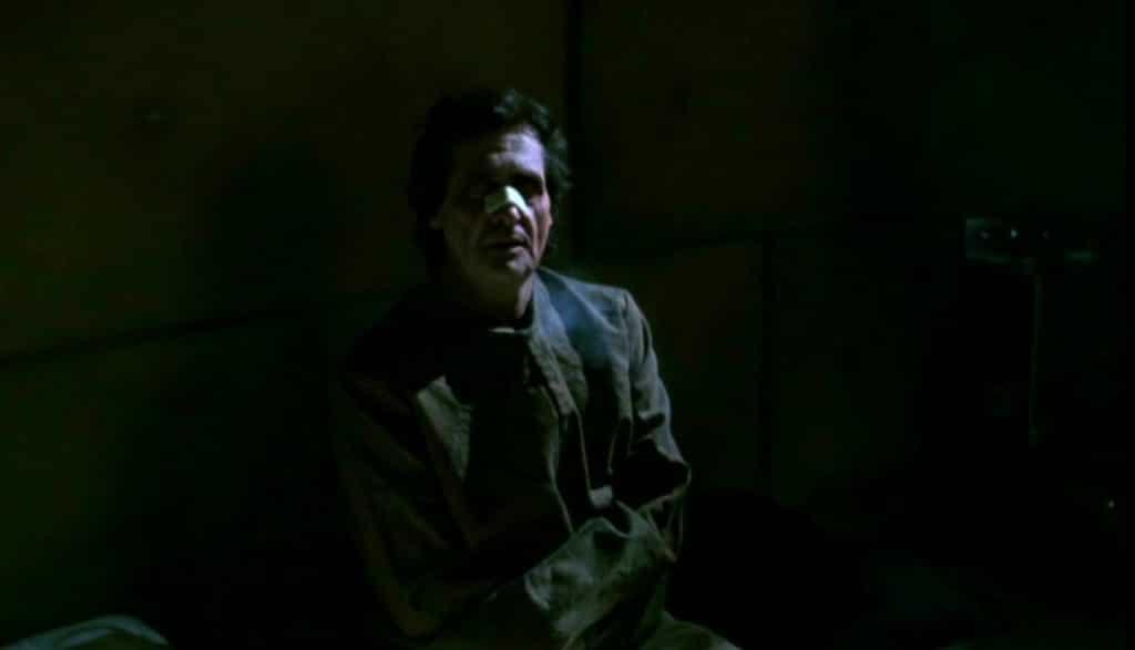 Jason Miller em uma de suas últimas atuações